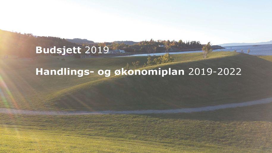 Forsidebilde av rådmannens  forslag til budsjett- og økonomiplan