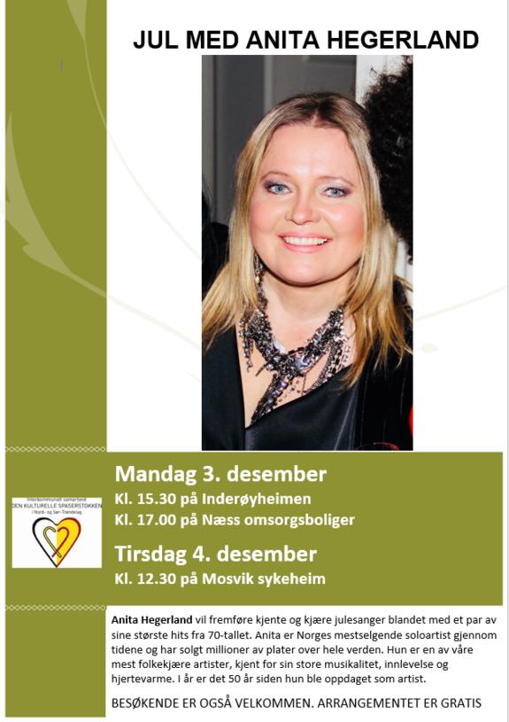 Jul med Anita Hegerland