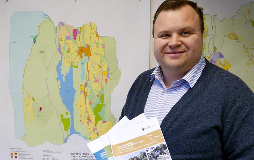 Ordfører Thomas Sjøvold kommuneplan WEB