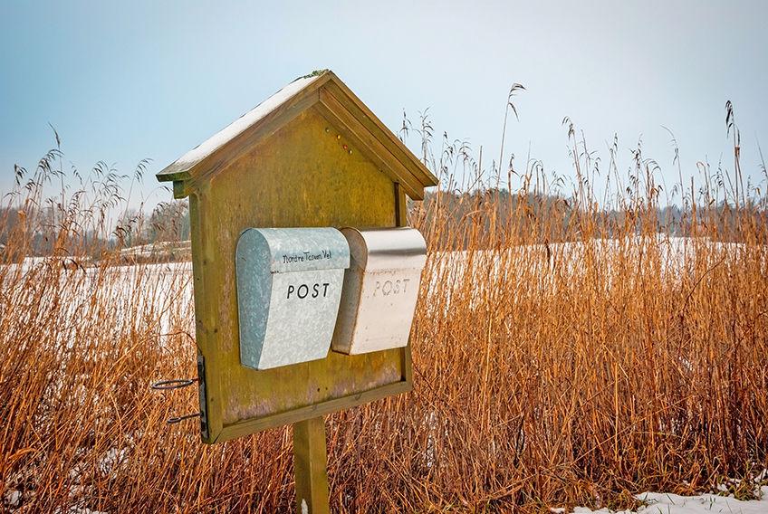 Har du fått brev fra Posten om felles postkassestativ