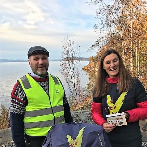 Bilde av varaordfører Ole Herman Sveian og rådgiver Anne Furan