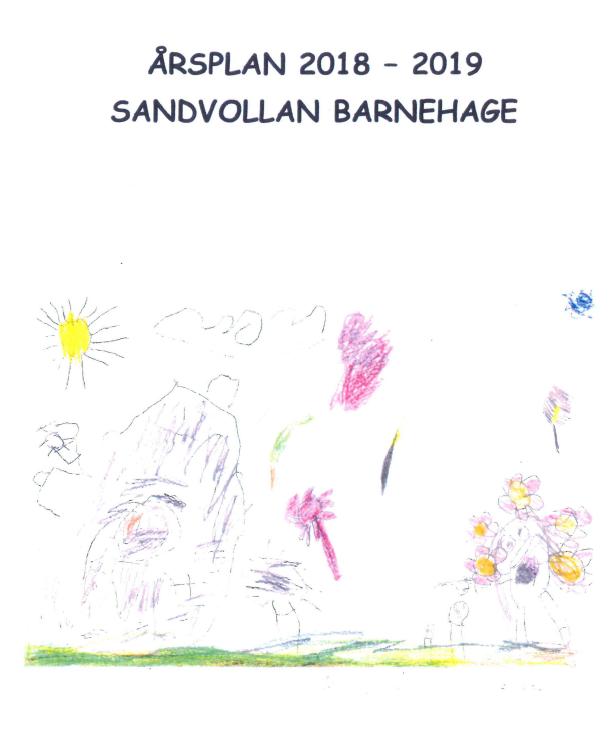 Årsplan 2018-2019 sandvollan bilde