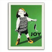 Joy - Fiskelykke gronn square