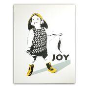 Joy - Fiskelykke hvit square