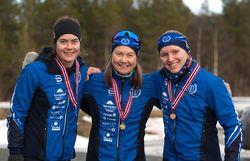 Medaljører KM sprint