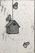 Birdhouse (etsning)