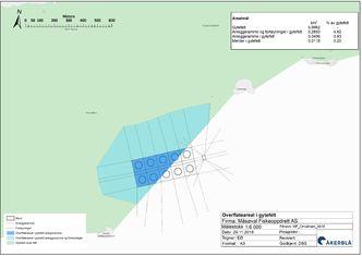 Vedlegg 4 Orholman - overflateareal gytefelt, Åkerblå
