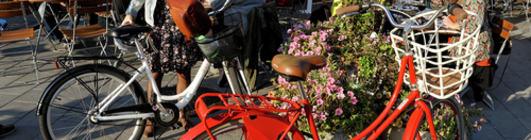 Sykkel rød