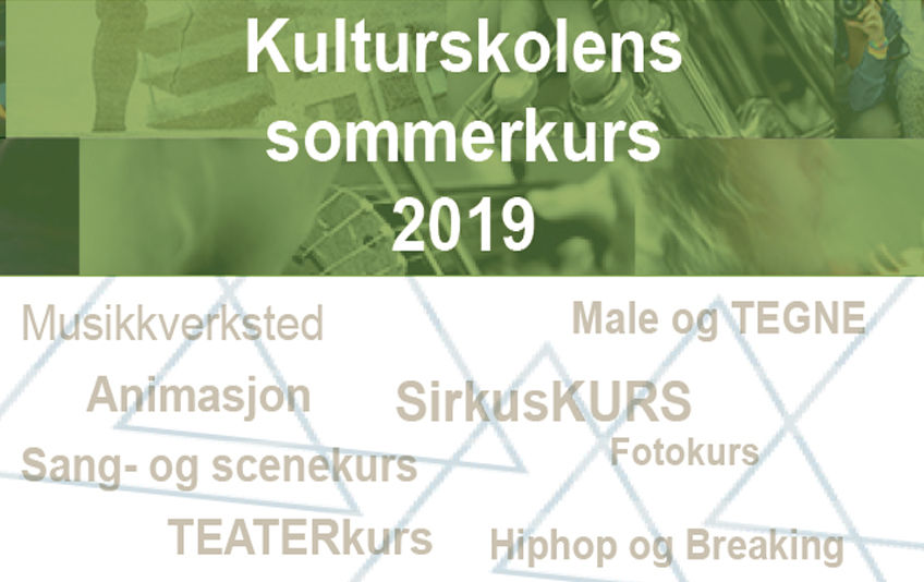 Kulturskolens sommerkurs 2019