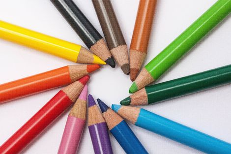 skole - tegnestifter