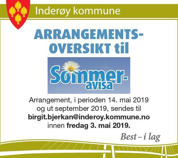 Annonse om sommeravisa