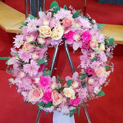 krans begravelse