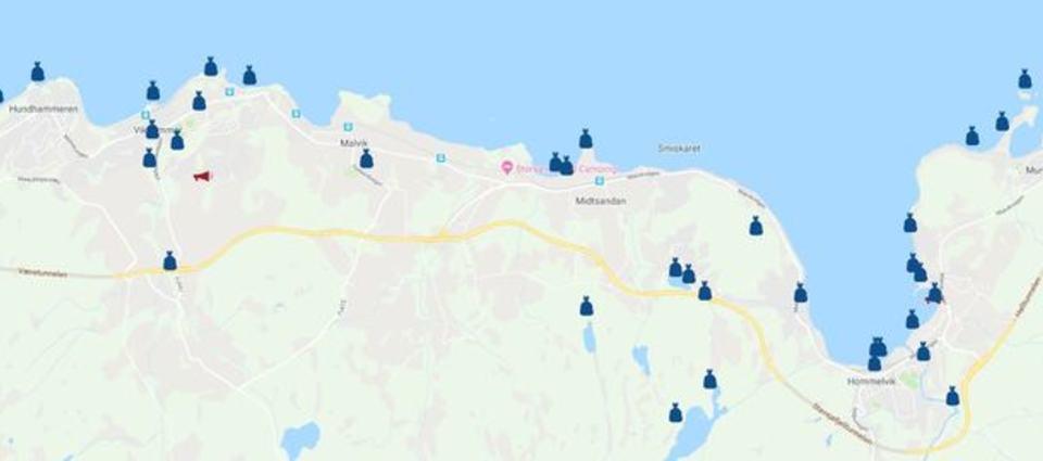 Ryddeaksjoner i Malvik i 2018