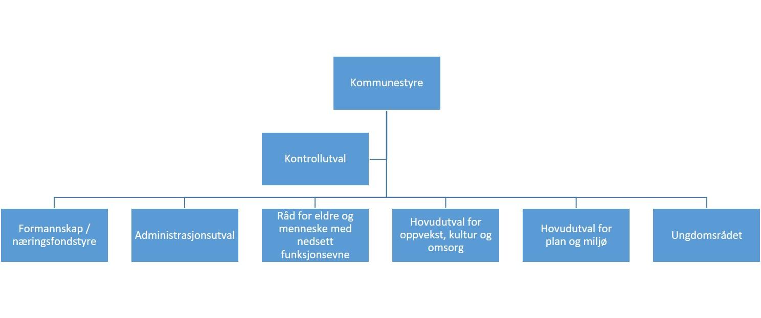 Politisk organisasjonskart