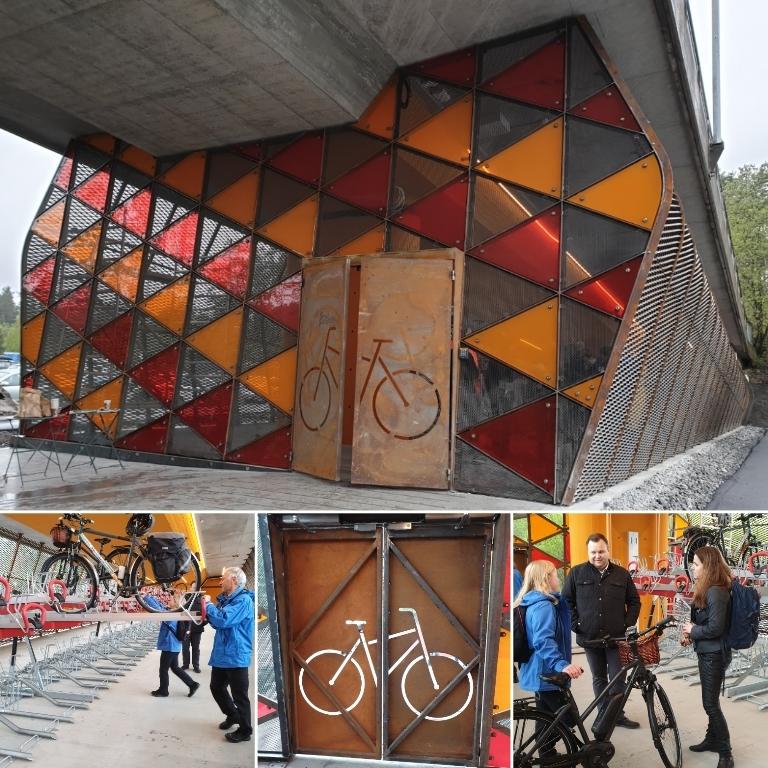 åpning sykkelhotell rosenholm