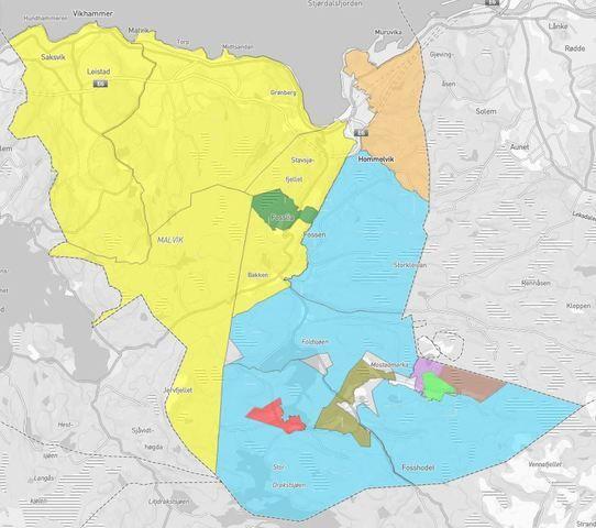 Digitale kart for hjorteviltvald og jaktfelt