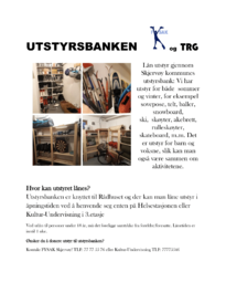 Plakat Utstyrsbanken 2019-1
