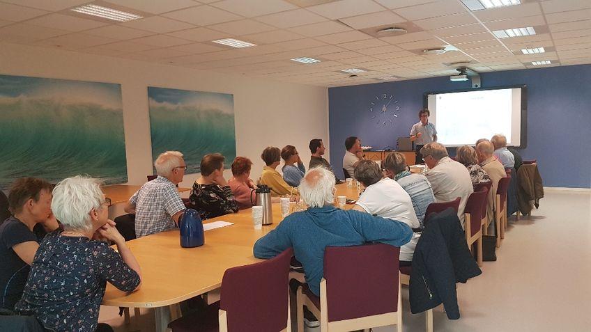 Bilde fra informasjonsmøte