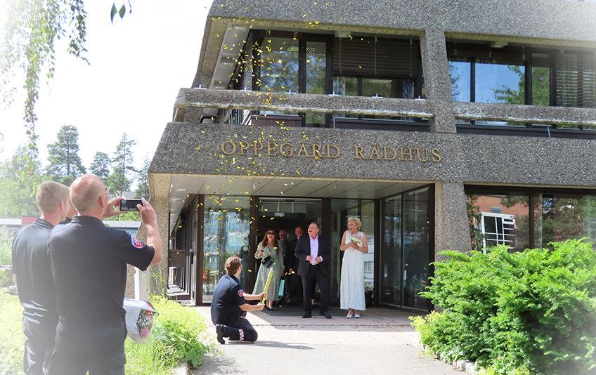 Nok en borgerlig vigsel er vel gjennomført. Violeta og Kurt Wålberg giftet seg lørdag 29. juni, og er par nummer 50 siden oppstarten i januar 2018.