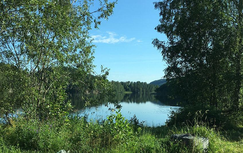 Gjersjøen sett fra syd