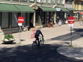Miljøgata fra Sør_unntatt sykkel