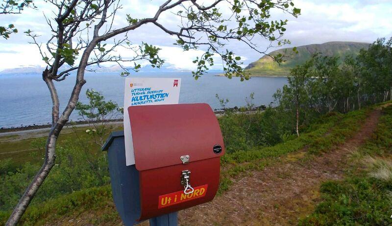 Postboks mot Laukøy
