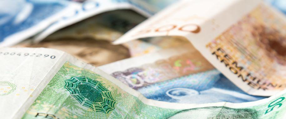 Illustrasjonsbilde av sedler