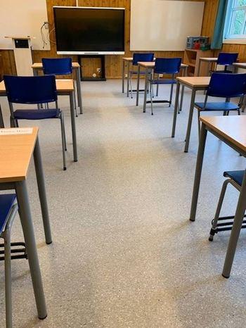Sandvollan skole nytt gulv
