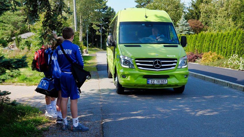 Idrettsbuss barn fra KIL