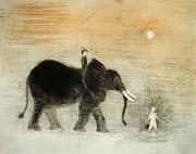 Ny stor elefant m følge