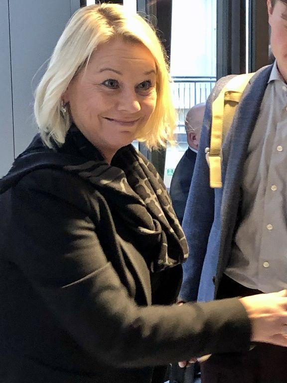 Kommunalminister Monica Mæland
