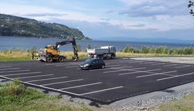 Ny parkeringsplass for Nygården og Malvikstien friluftsområder