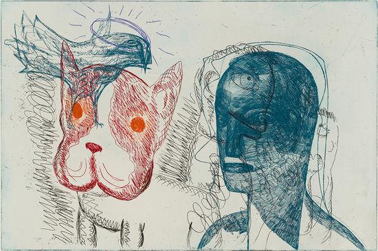 Rød hund Bjertnes og Melgaard