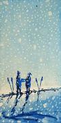 Forlovelse i snø