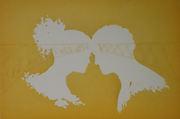To hoder og bru - gul