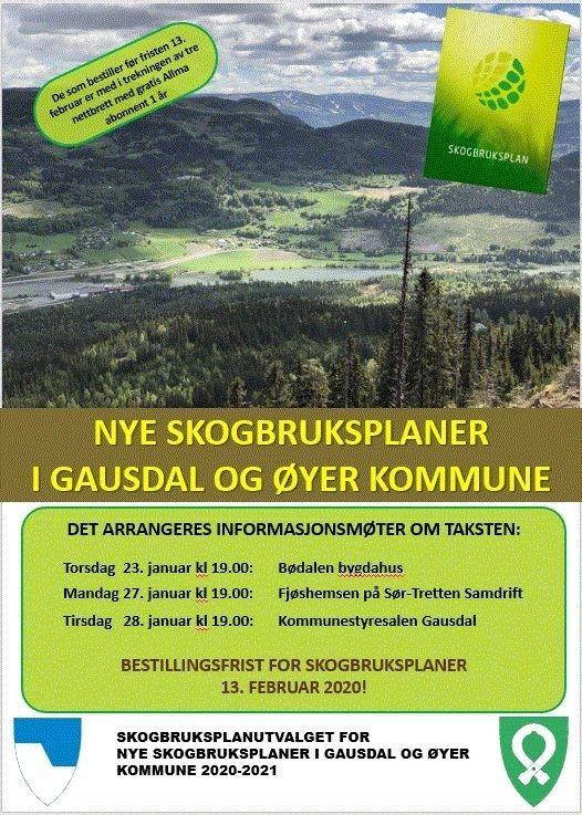 Nye skogbruksplaner