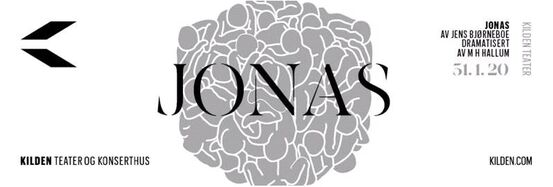NY Kilden, Jonas, teater logo