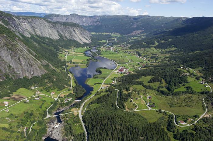 valle kommune natur