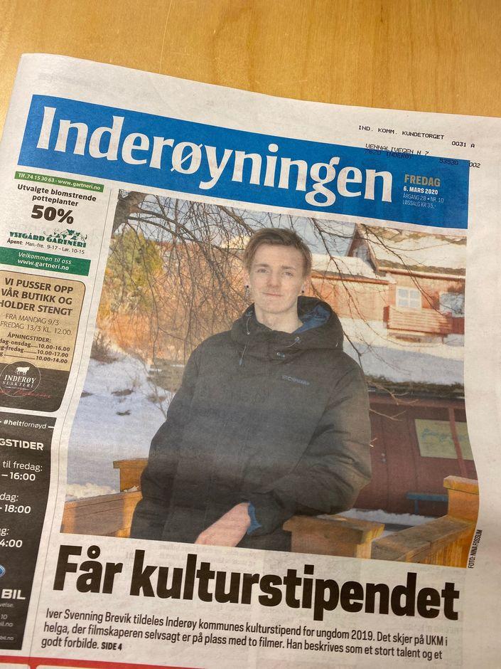 Kulturstipend for ungdom 2019_Inderøyningen