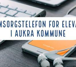 Omsorgstelefon for elevar i Aukra kommune