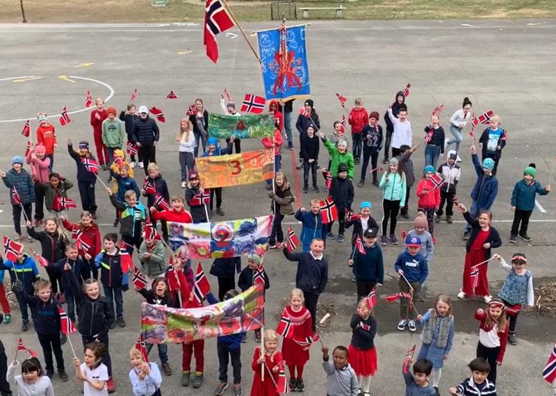 Videohilsen fra Lillehammer skolen.