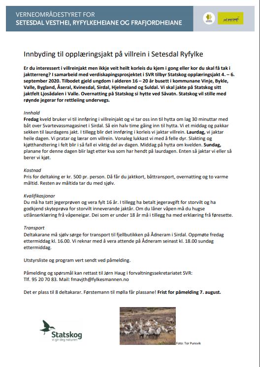 Innbyding til opplæringsjakt 2020. bilde.png