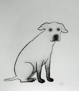 Sittende hund