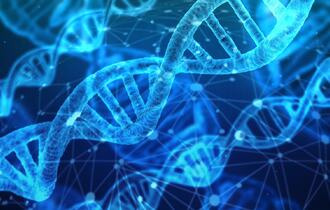Tråder med DNA-materiale