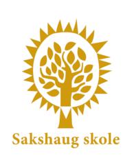 Sakshaug skole logo