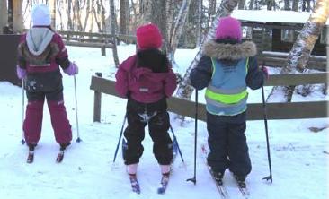 Årsplan 2020 - Vikhammeråsen barnehage - barn på ski.png