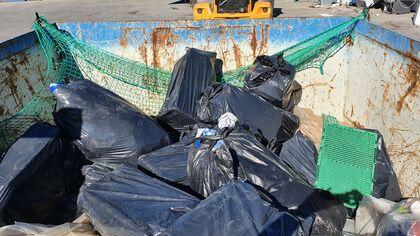 Svarte søppelsekker