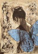 Blå vinge