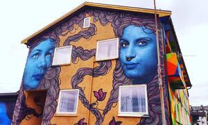 Street art i Sandnessjøen