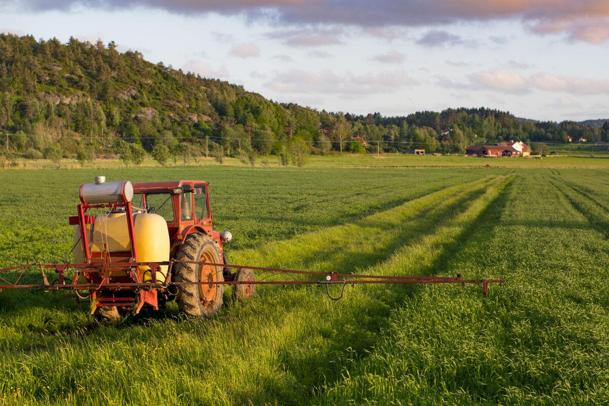 Avling-traktor